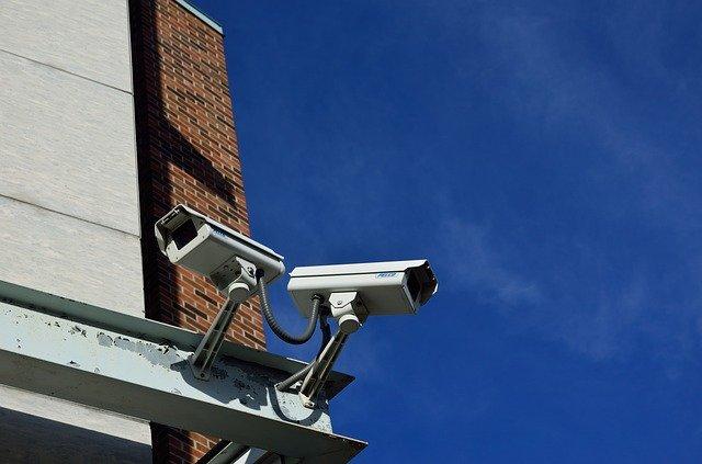 מצלמת אבטחה למפעל