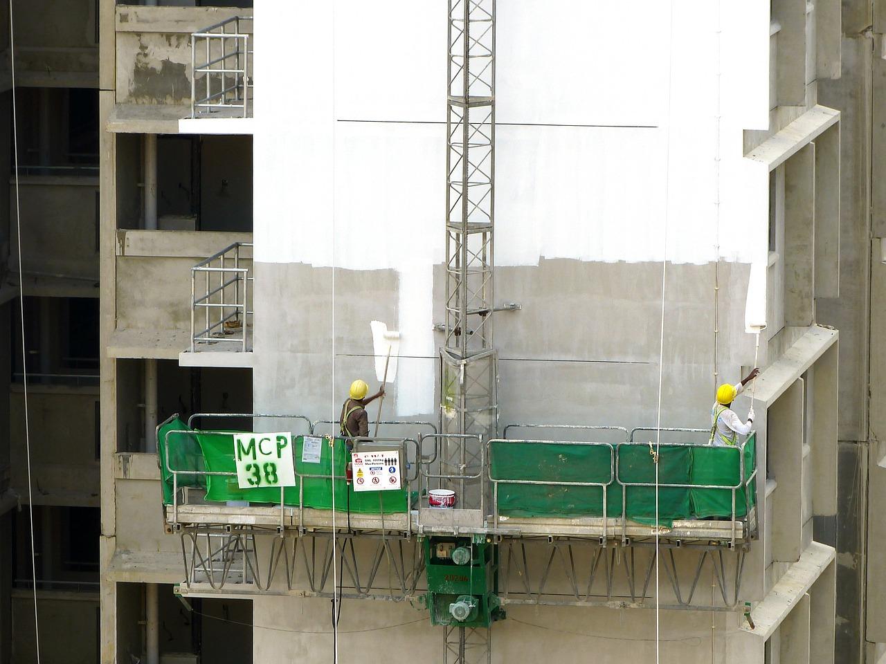 שיקום בטון בגובה